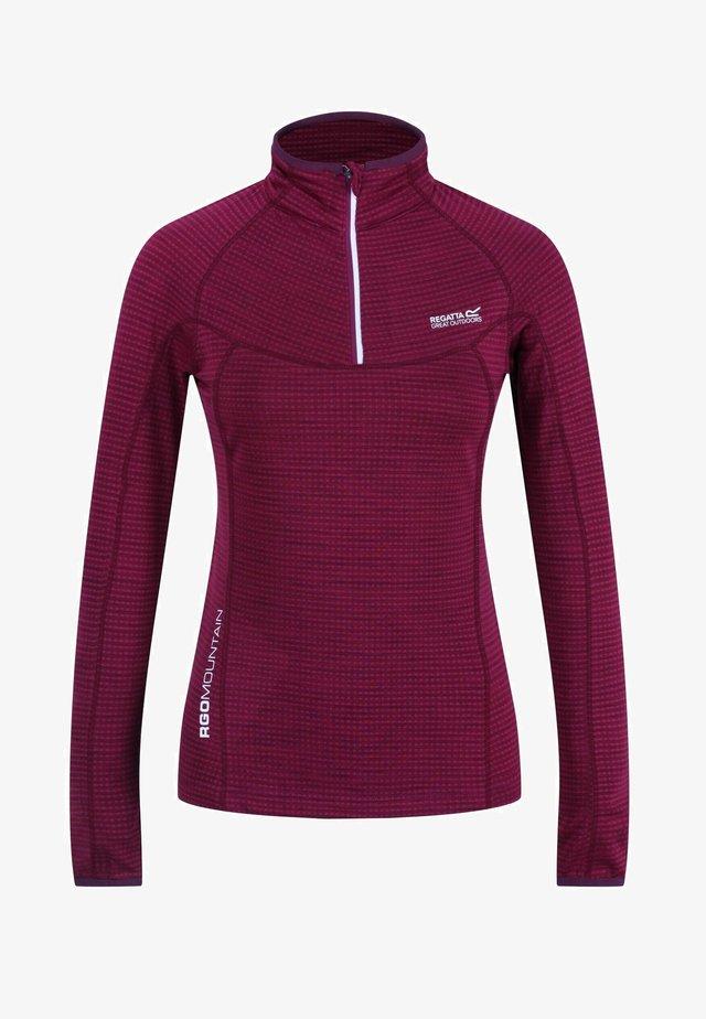 YONDER POWERSTRETCH  - Sports shirt - purplepotion