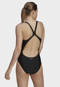 adidas Originals - SH3.RO SOLID S MUST HAVES PRIMEBLUE NYLON SWIM SPORTS FITTED SWIMSUIT - Badpak - black - 2