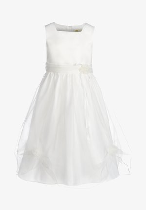 MIT RAFFUNG - Cocktail dress / Party dress - ecru