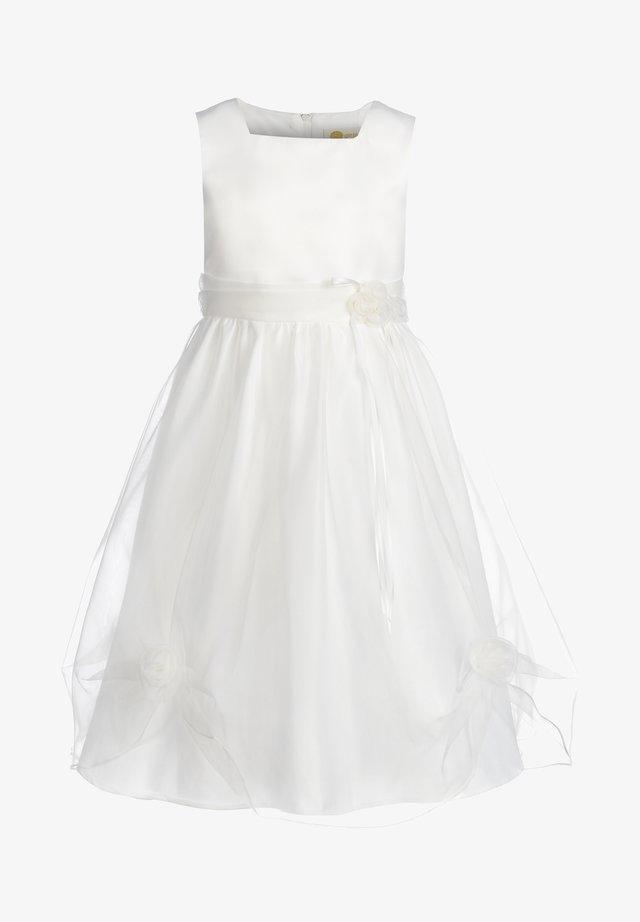 MIT RAFFUNG - Sukienka koktajlowa - ecru