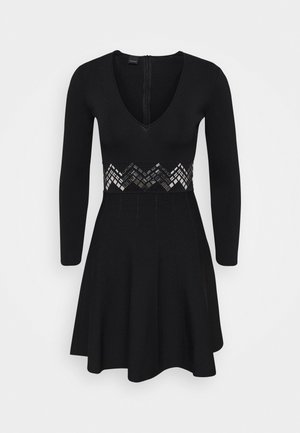 FRANA DRESS - Jumper dress - nero limousine