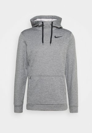 Sweat à capuche - dark grey heather/black