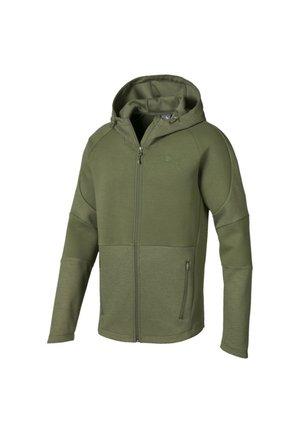 Training jacket - olivine
