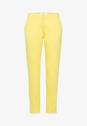 STYLE MARON - Trousers - yellow