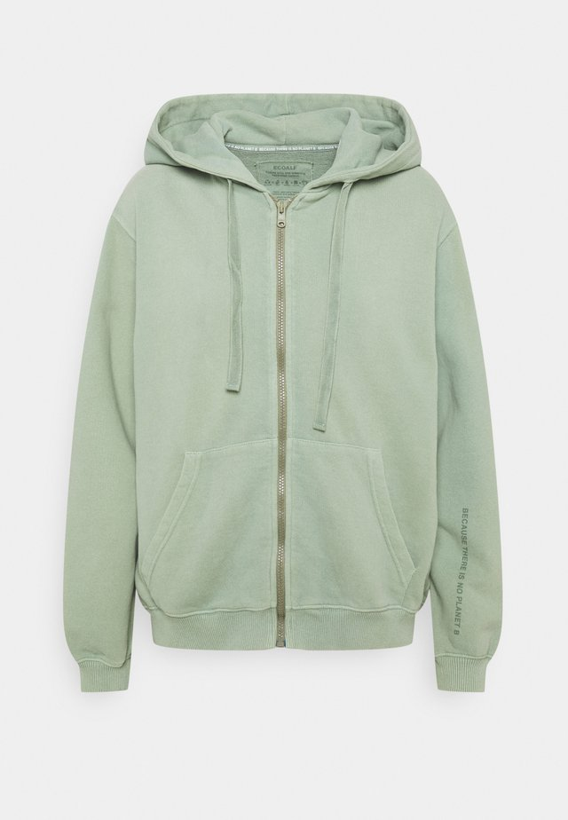 BASIC HOODIE WOMAN - Sweatjakke /Træningstrøjer - green shadow