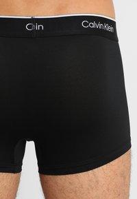 Calvin Klein Underwear - LOW RISE TRUNK 2PK - Culotte - black - 2