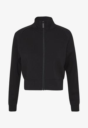 JACKET ZIP - veste en sweat zippée - jet black