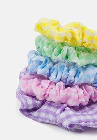 Fire & Glory - UTTI SCRUNCHIE ZAL 5 PACK - Hair styling accessory - purple heather/multi - 1