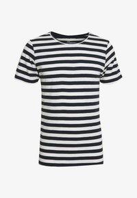 Jack & Jones - JORMILO TEE CREW NECK - T-shirt imprimé - navy blazer - 0