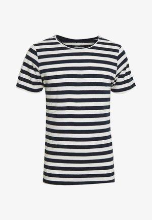JORMILO TEE CREW NECK - T-shirt imprimé - navy blazer