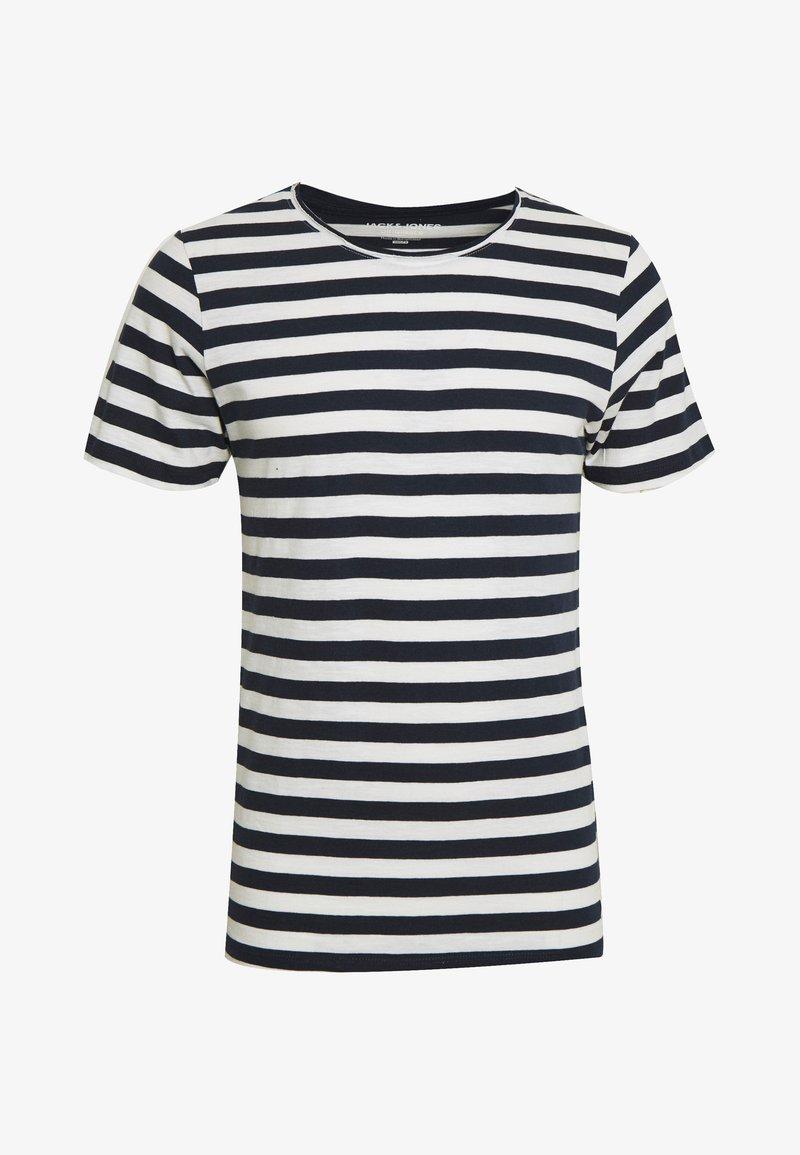 Jack & Jones - JORMILO TEE CREW NECK - T-shirt imprimé - navy blazer
