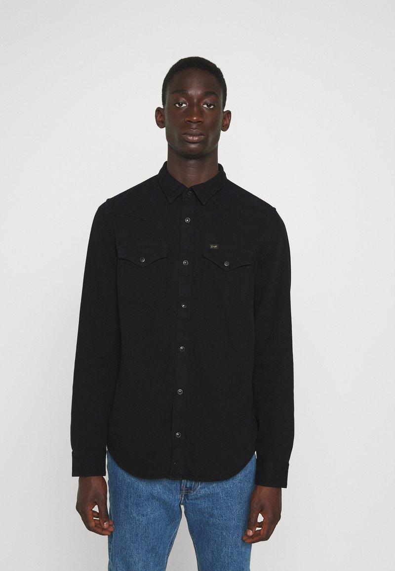 Lee - REGULAR WESTERN - Overhemd - black