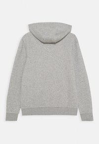 adidas Originals - TREFOIL HOODIE UNISEX - Hoodie - medium grey heather/white