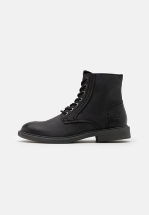 JFWKARL BOOT - Lace-up ankle boots - black