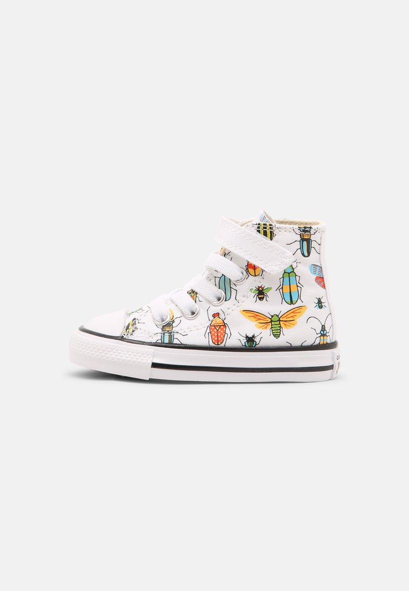 Converse - CHUCK TAYLOR ALL STAR BUGGED OUT HI UNISEX - Sneakers hoog - white/natural ivory/black