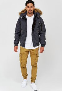 INDICODE JEANS - Winter jacket - dk grey - 1