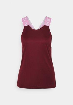 DRY ELASTIKA TANK - Sports shirt - dark beetroot/beyond pink