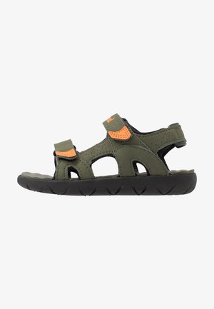 PERKINS ROW 2 STRAP - Walking sandals - dark green
