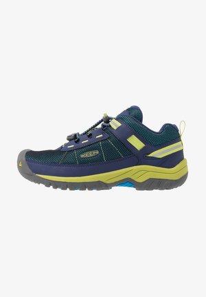TARGHEE SPORT - Hiking shoes - blue depths/chartreuse