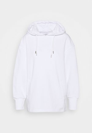 DOUBLE DRAWCORD SIDE SPLIT - Sweatshirt - white