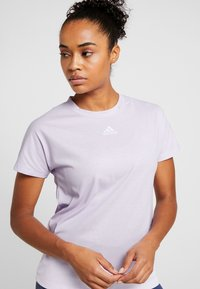 adidas Performance - TEE - T-shirt basic - purple - 4