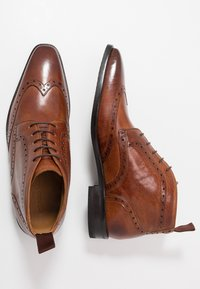 Melvin & Hamilton - FREDDY - Smart lace-ups - remo tan - 1