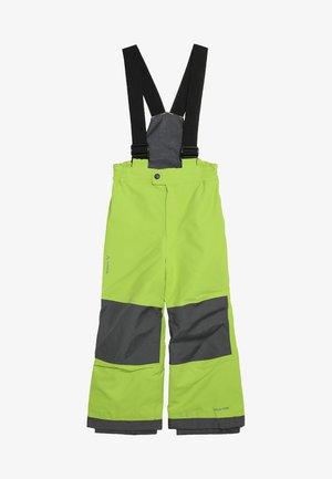 KIDS SNOW CUP PANTS - Talvihousut - chute green