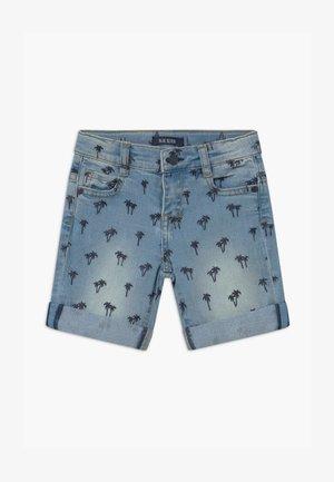 SMALL BOYS PALM TREE - Farkkushortsit - jeansblau