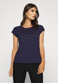 Anna Field - Print T-shirt - evening blue - 0