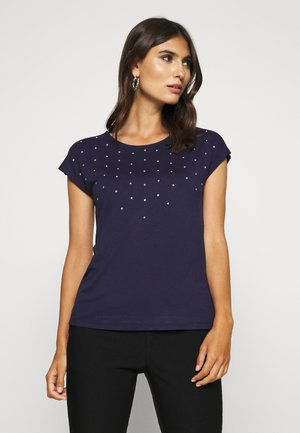 Print T-shirt - evening blue