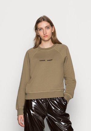 BARLETTA CREW NECK  - Sweatshirt - covert green