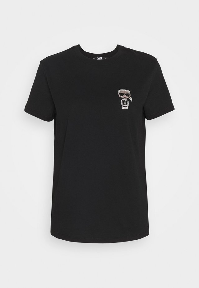 IKONIK MINI - T-shirt z nadrukiem - black