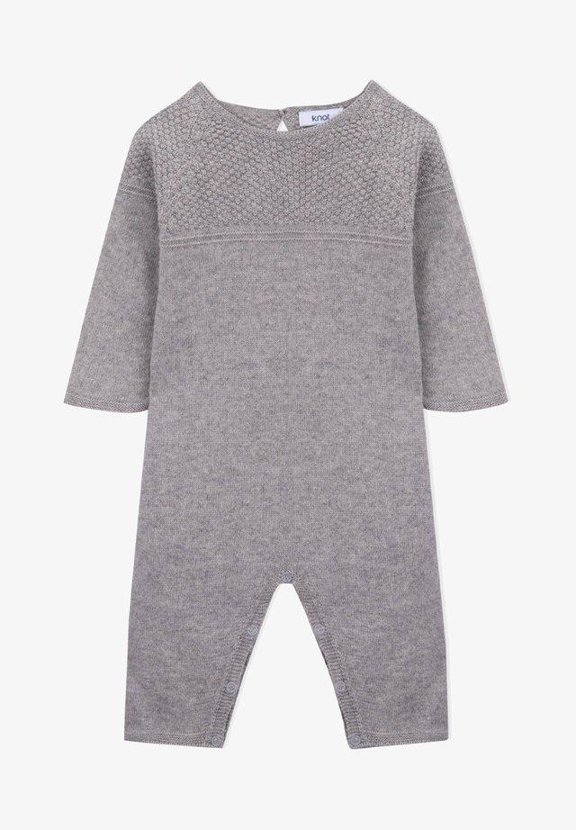 NEWBORN TRICOT  - Jumpsuit - grey