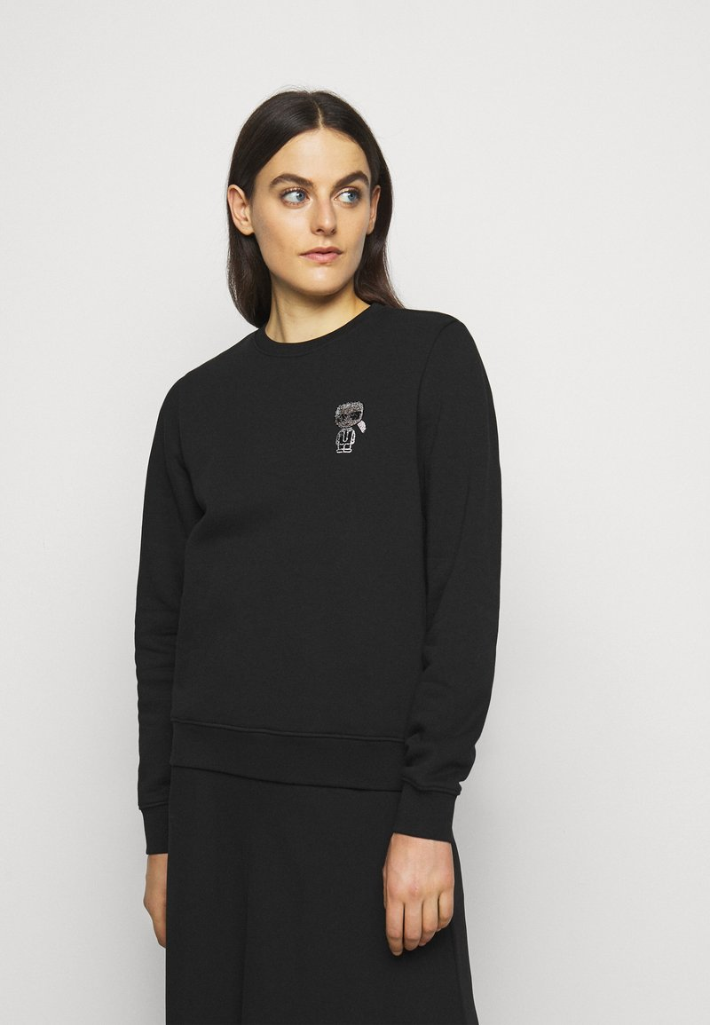 KARL LAGERFELD - IKONIK MINI - Sweatshirt - black