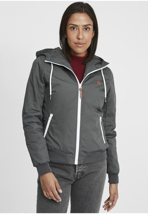 Waterproof jacket - dark grey