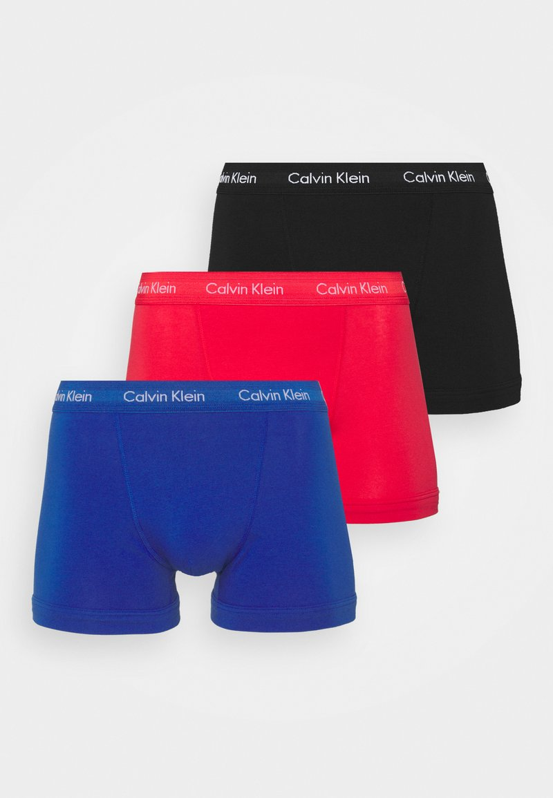 Calvin Klein Underwear - TRUNK 3 PACK - Underkläder - pink
