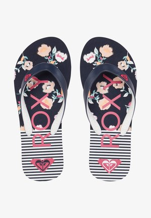 TAHITI - Pool shoes - blue/pink