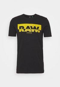 G-Star - RAW. GRAPHIC SLIM  - Camiseta estampada - black - 0
