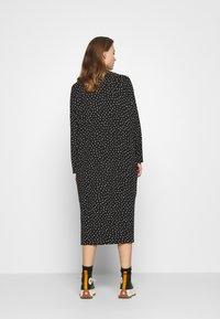 Monki - PIA DRESS - Day dress - black - 2
