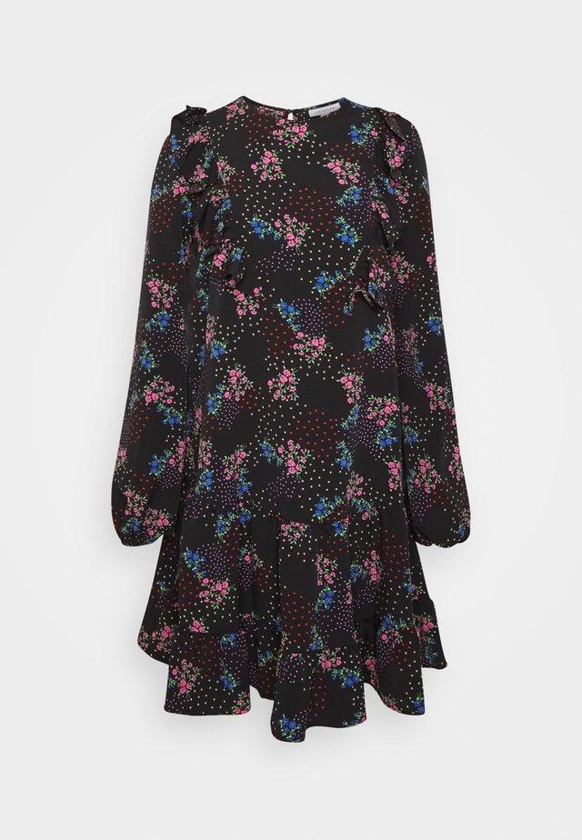 RUFLE  MINI - Korte jurk - multi