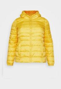 CARTA HOOD JACKET - Light jacket - lemon