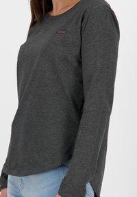 alife & kickin - LEAAKA - Long sleeved top - moonless - 4