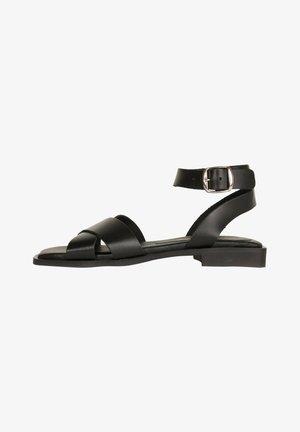 Sandalen met enkelbandjes - schwarz