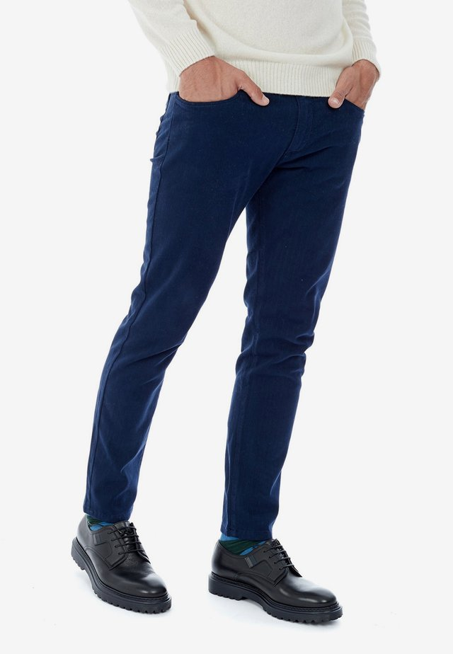 BASICO - Vaqueros slim fit - blu scuro
