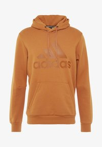 adidas Performance - Zip-up hoodie - brown - 4