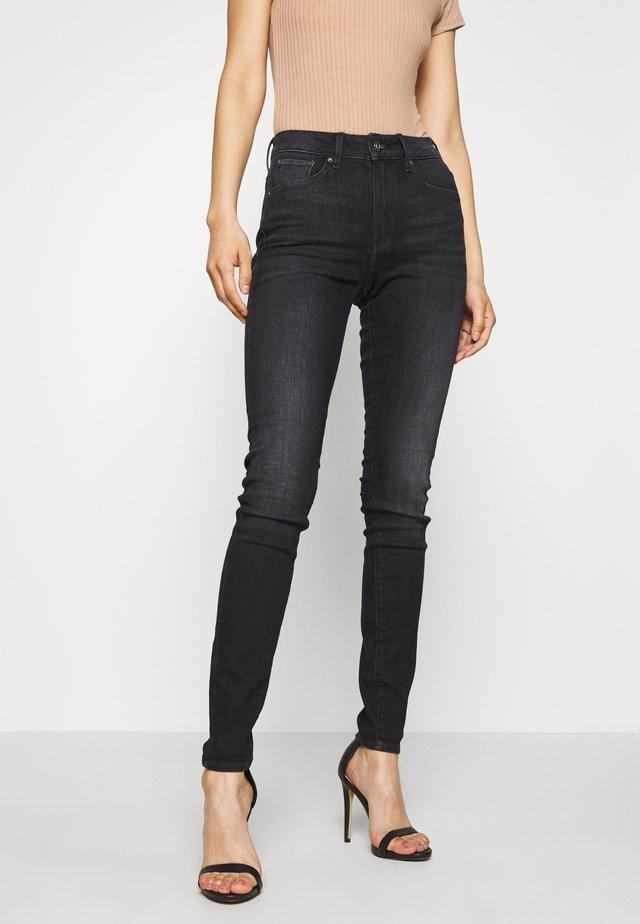 3301 HIGH SKINNY  - Jeans Skinny Fit - worn in coal