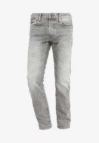 G-Star - 3301 SLIM - Džíny Slim Fit - kamden grey stretch denim light aged - 4