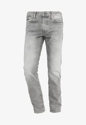 3301 SLIM - Slim fit jeans - kamden grey stretch denim light aged