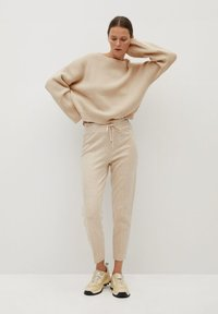 Mango - TOTI - Jumper - light/pastel grey - 1
