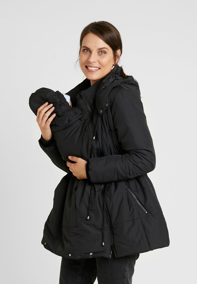 3 IN 1 PADDED JACKET - Parkatakki - black